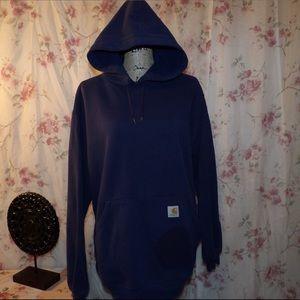 Carhartt Navy Blue hoodie